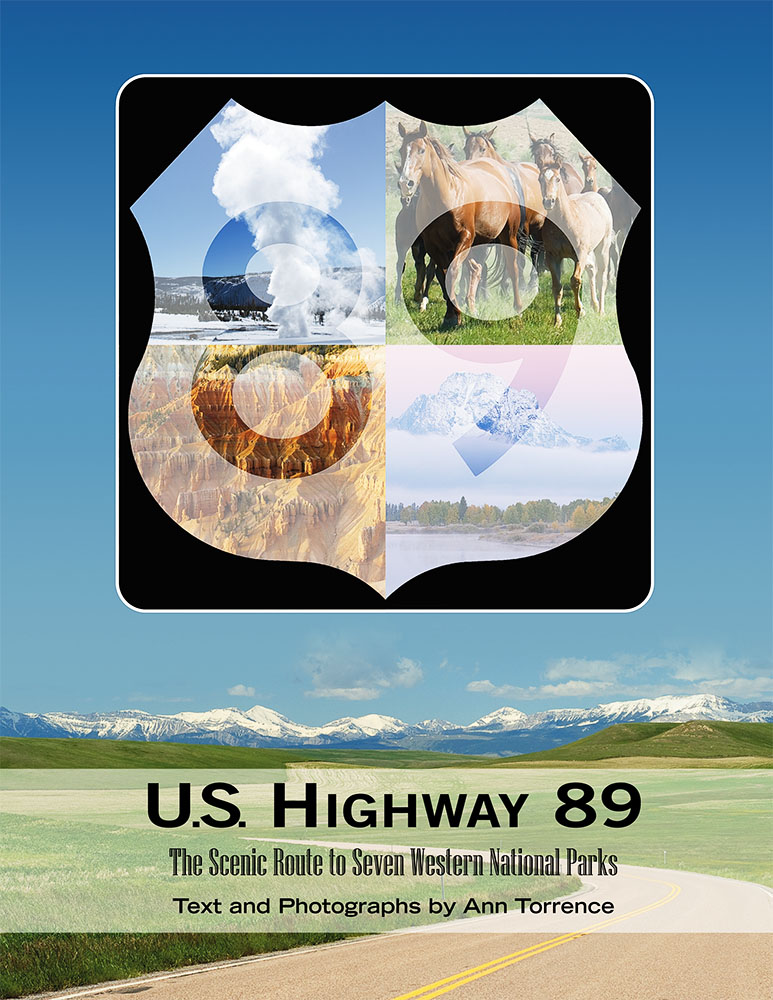 U.S. Highway 89 Cover Book by Ann Torrence