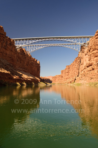 Twin Marble Canyon bridges, Glen Canyon National Recreation Area